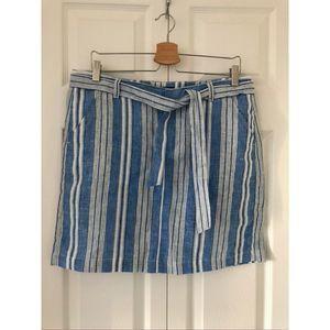NWOT Tommy Hilfiger Linen skirt